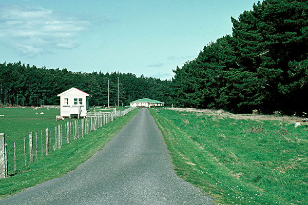 Awarua Radio ZLB in 1982