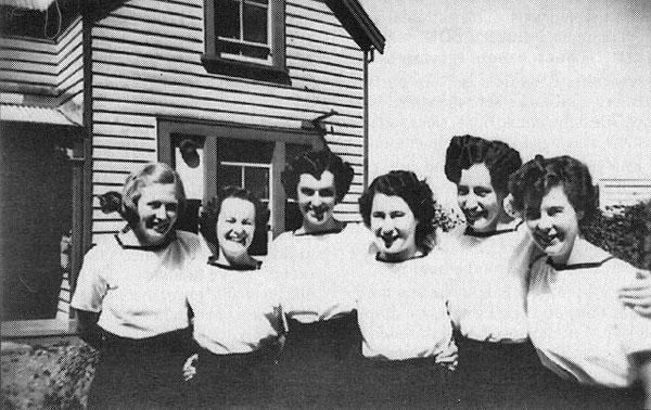NZ Navy Wrens during World War 2