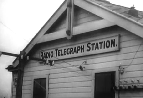 Chatham Islands Radio in 1947
