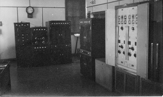 Transmitters at Awarua Radio ZLB in 1940