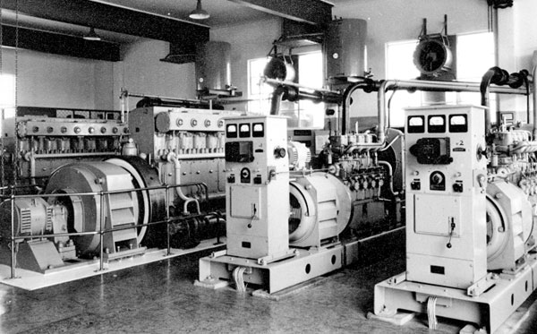 Himatangi Radio emergency power generators