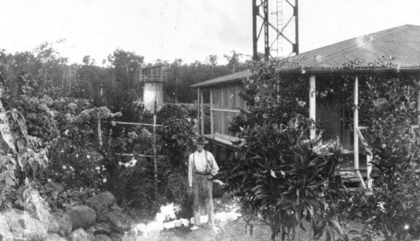 Wireless Station at Apia, c1916