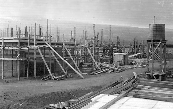 Construction at Himatangi Radio