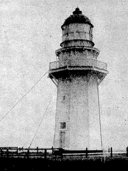 The original Puysegur Point lighthouse