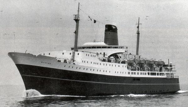 Inter-island ferry Wahine