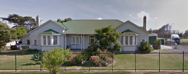 122 Wireless Rd, the house built for the Officer in Charge of Awanui Radio