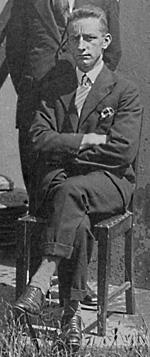 John Houlihan, pictured c1930 at Awarua Radio