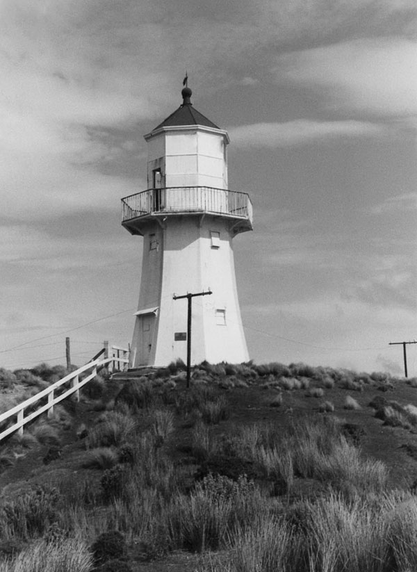 Pencarrow lighthouse in 1958