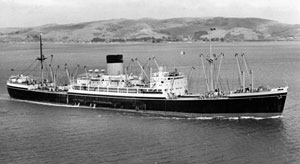 Shaw Savill liner TSS Persic
