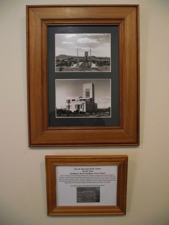 Photos of Musick Memorial Radio Station presented to Awarua Communications Museum by Musick Point Radio Group, 3 September 2016