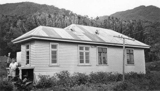 Raoul Island radio station, date unknown