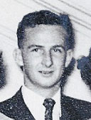 Radio operator Clyde Williams in 1958