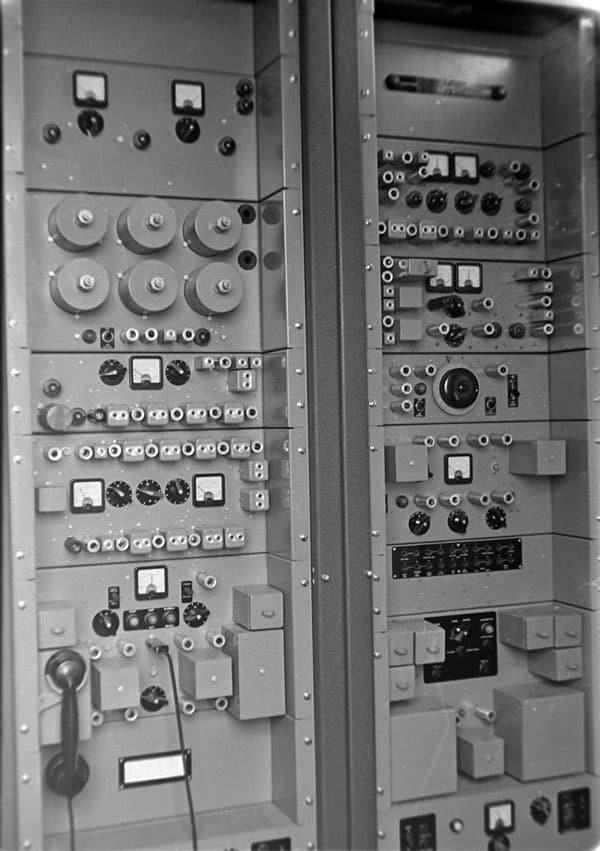 Marconi 48-channel VHF bearer equipment, c1970s