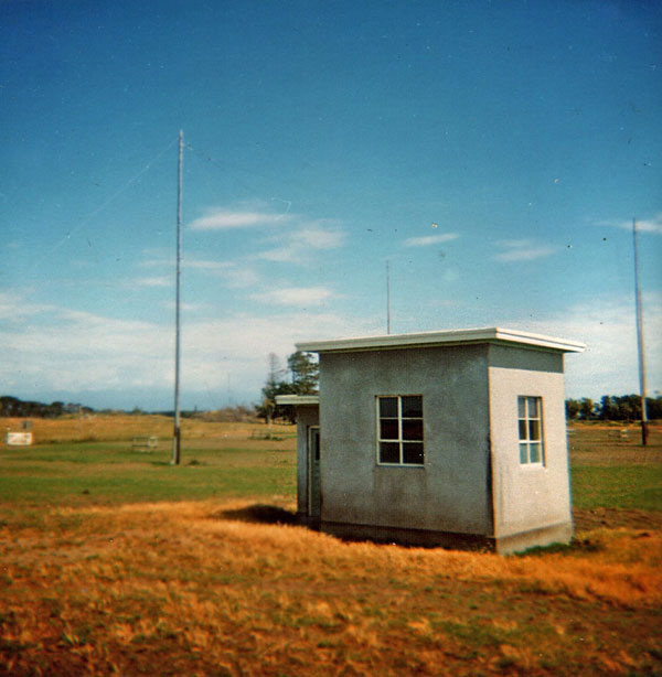 The North VHF building at Himatangi Radio, c1970s