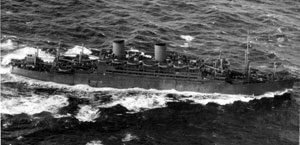Dominion Monarch in wartime grey, 1943
