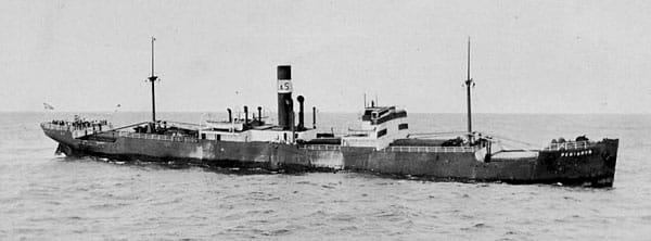 Norwegian freighter Penybryn