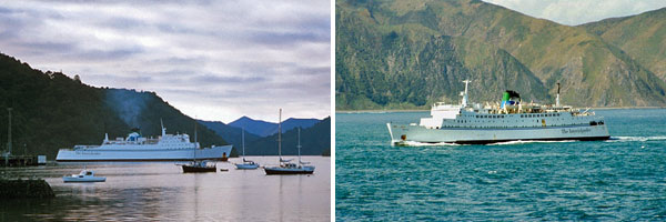 New Zealand ferries Arahanga and Aratika