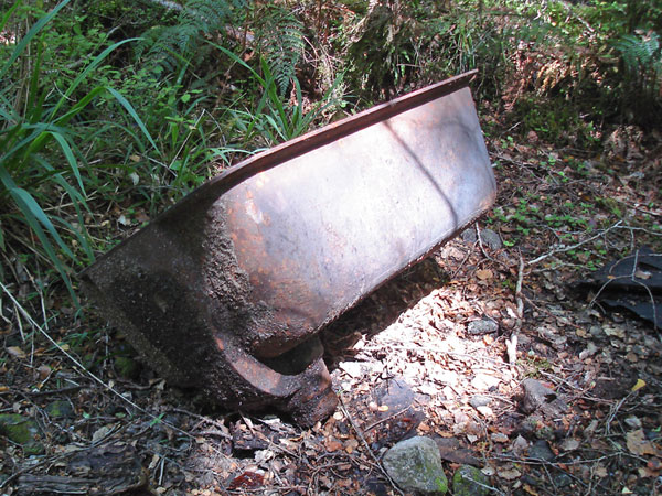 The Milford Track linesman's bathtub in 2010