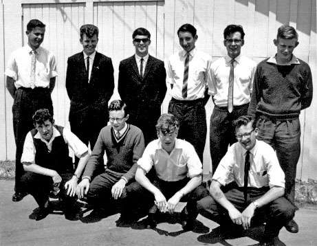 The last radio training class held at Trentham, before the move to Rugby St, 1962