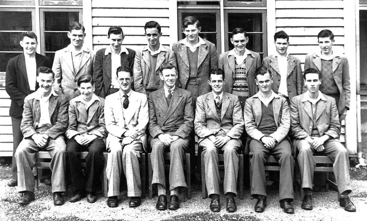 Telephone Mechanicians Training School, Trentham, 1949