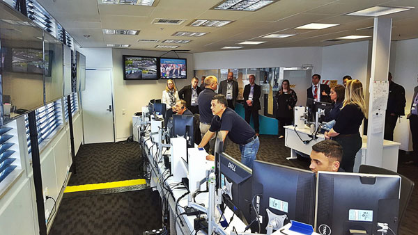 Global search and rescue experts toured the Maritime Operations Centre in October 2016 as part of the ICAO (International Civil Aviation Organisation) and IMO (International Maritime Organisation) meeting being held in Wellington