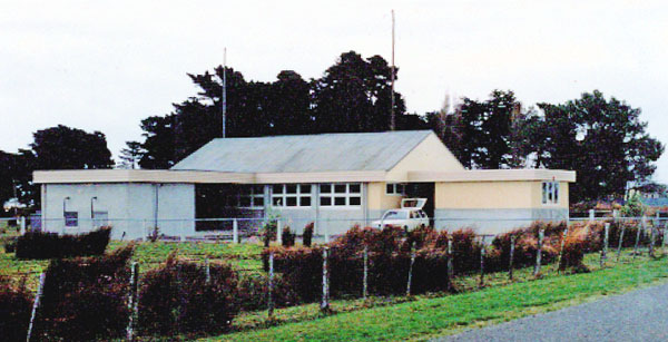 The 1978 transmitter building at ZLB