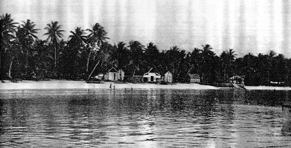 Funafuti, Ellice Group (now Tuvalu) in 1941