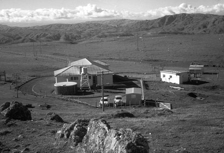 Quartz Hill receiving station in the mid 1960s