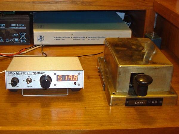 Marconi 365A key at ZL2WT