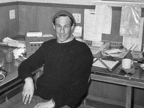 Radio operator Gordon Phillips