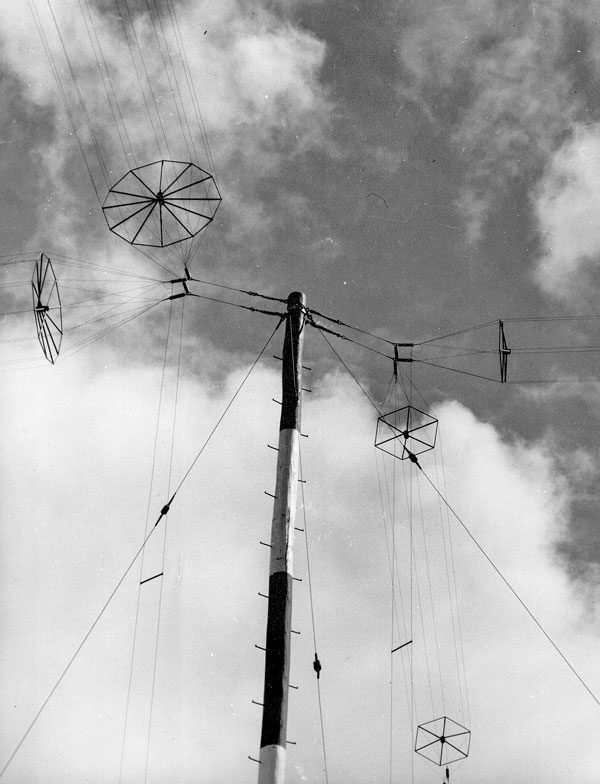 Quadrant antenna at Himatangi