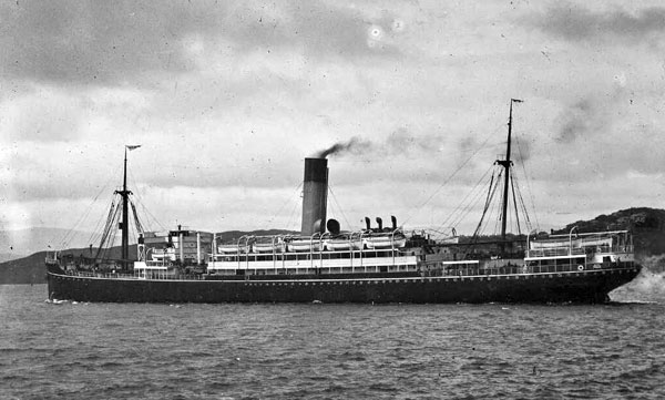 Shaw Savill Albion steamer Tainui