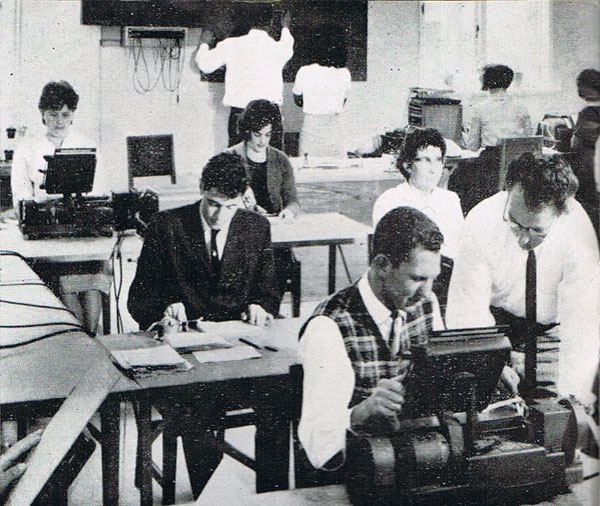 Telegraph Training Auckland 1965