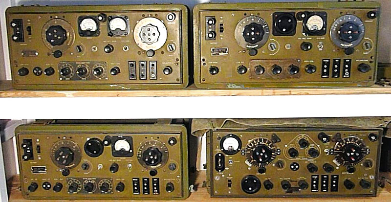 4 versions of the ZC1 radio transceiver