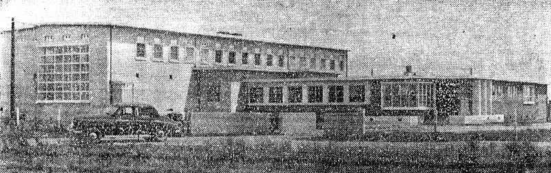 Himatangi Radio building in 1953