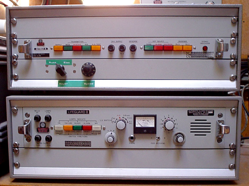 Marconi autokeyer and auto-alarm