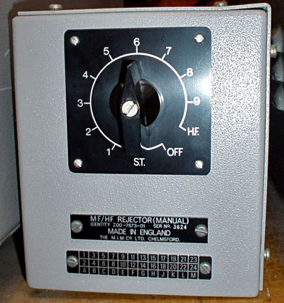 Marconi MF/HF Rejector