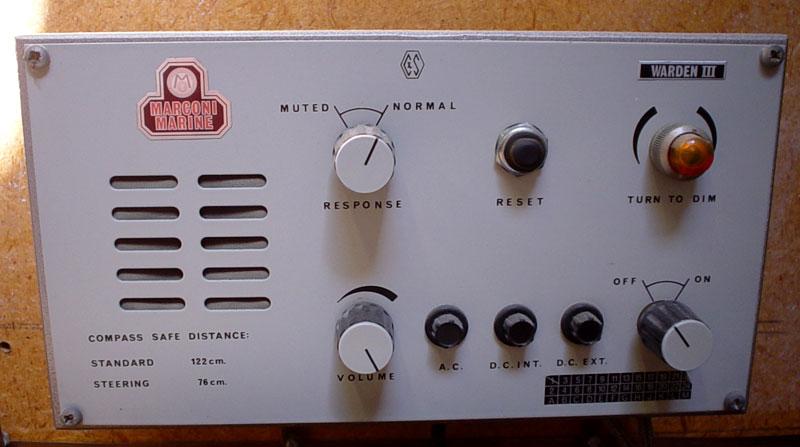 Marconi Warden 3 auto-alarm receiver