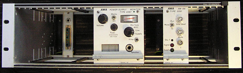AWA 12.5kHz channel spacing equipment