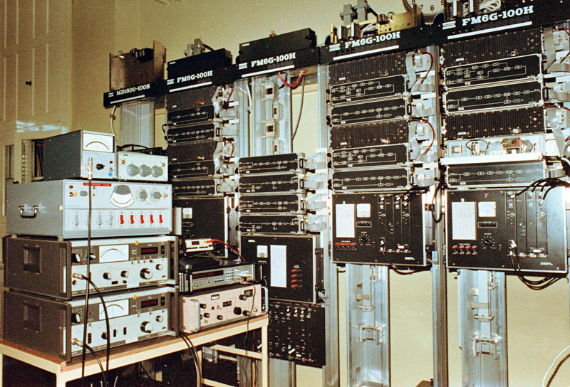 Training facility for the 1800-channel system in Christchurch