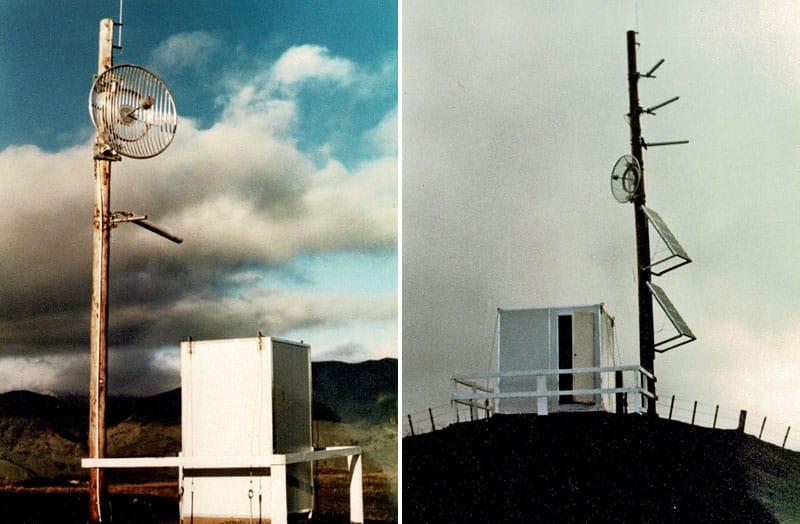 Christchurch Multi-Access Radio antennas