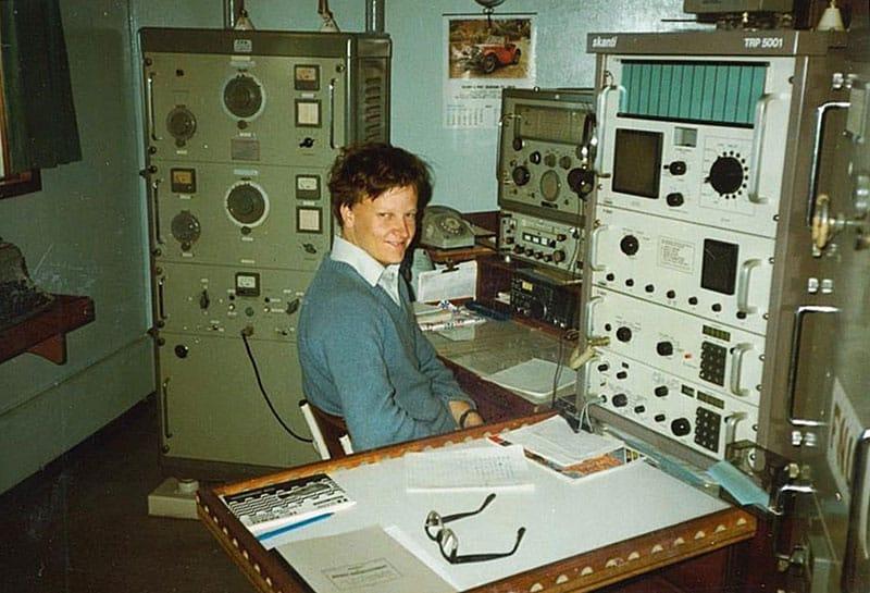 Capitaine Wallis FNUD radio room 1984-1985