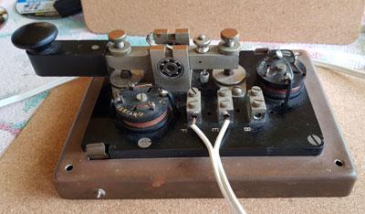 Marconi 365B telegraph key