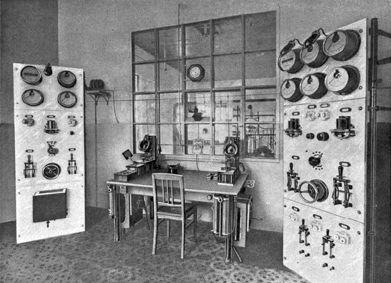 Apia Radio operating desk, c1914
