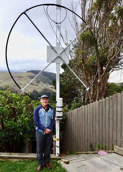 ZL2AVM loop antenna