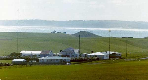 Chatham Islands Radio ZLC c1981