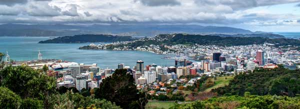 Te Ahumairangi Hill (aka Tinakori Hill, Mt Etako or Mt Wakefield) site of former coast station Wellington Radio ZLW.