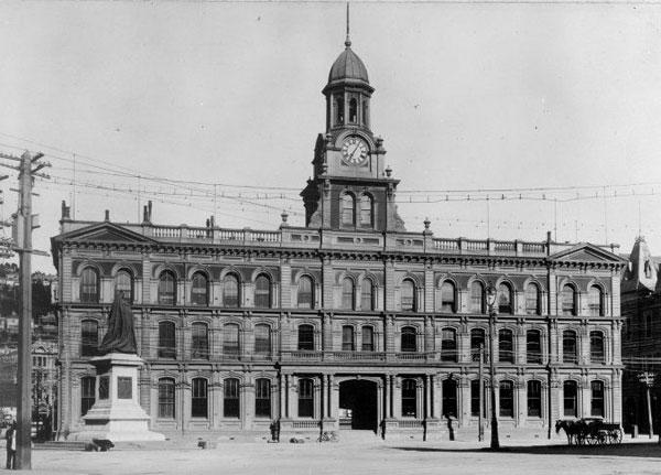 Chief Post Office in Wellington, 13 Dec 1907