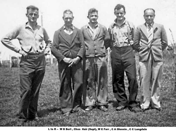 Chatham Islands Radio Staff in the 1940s