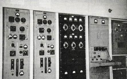Chatham Islands Radio transmitters in 1957
